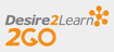 Desire2Learn 2GO logo