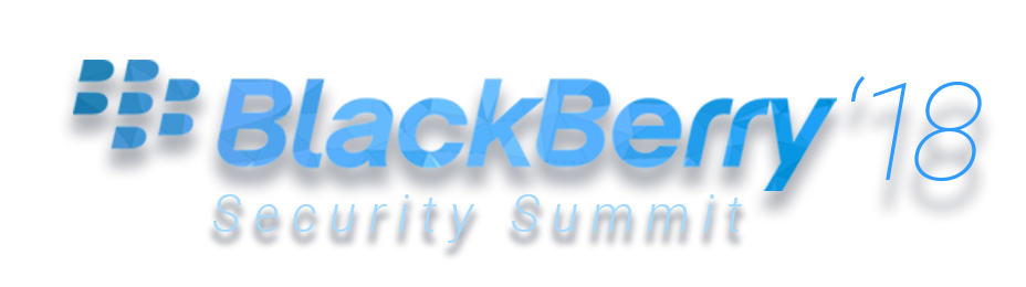 BlackBerry'18 Security Summit