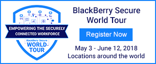 BlackBerry Secure World Tour Register Now